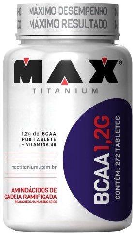BCAA 1,2g (120caps) - MAX TITANIUM