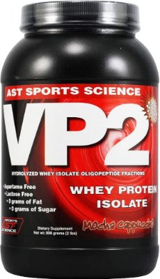 VP2 WHEY PROTEIN 100% ISOLADO (908g) - AST
