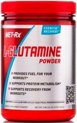 GLUTAMINA POWDER (400g) - MET RX