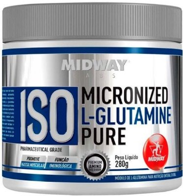 ISO GLUTAMINA POWDER (280g) - MIDWAY