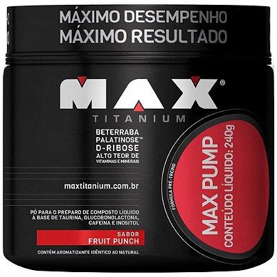 MAX PUMP (240g) - MAX TITANIUM