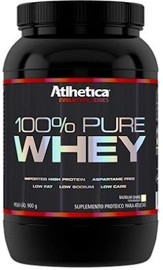 100% PURE WHEY (909g) - ATLHETICA
