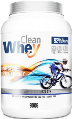 CLEAN WHEY ISOLADO 92% (900g) - GLANBIA