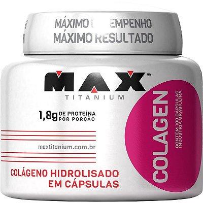 COLÁGENO ISOLADO (100caps) - MAX TITANIUM