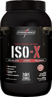 ISO X WHEY ISOLADO (909g) - INTEGRAL MÉDICA