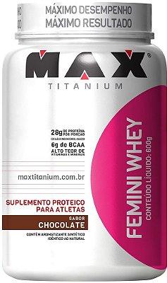 FEMINI WHEY (600g) - MAX TITANIUM