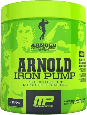 IRON PUMP (180g) - ARNOLD SERIES MUSCLE PHARM