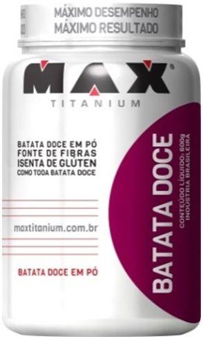 BATATA DOCE ISOLADA EM PÓ (600g) - MAX TITANIUM