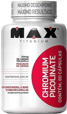 PICOLINATO DE CROMO (60caps) -  MAX TITANIUM