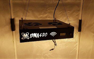 Painel Led DNA420 Quantum Board 250w Termohigrometro e WIFI, UV + IR