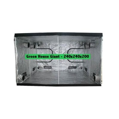 Estufa de Cultivo Green House DIAMOND 1610D Giant 240x240x200cm