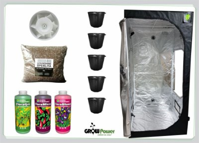 KIT EASY TO GROW 100X100X200 - Sem Luz