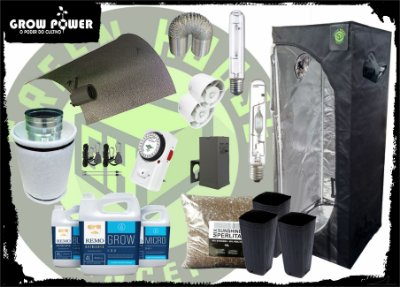 KIT EXPERT EASY TO GROW 60x60x160 - 250w