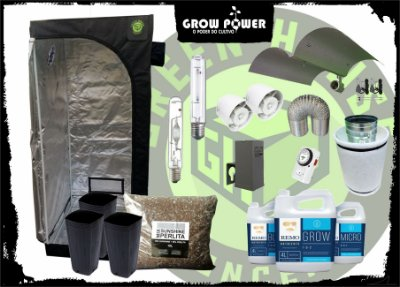 KIT EXPERT EASY TO GROW 80x80x180 - 400w