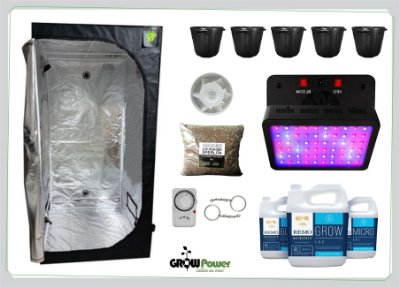 KIT LED EASY TO GROW 120x120x200 – 600w BIVOLT