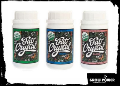 Trypack Fat Crystal 250ml - Grow, Micro & Bloom