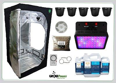 KIT LED EASY TO GROW 100x100x180 - 600w - BIVOLT