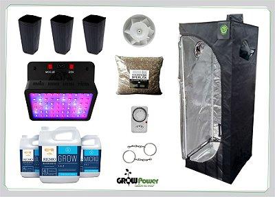 KIT LED EASY TO GROW 60x60x160 - 600w Bivolt