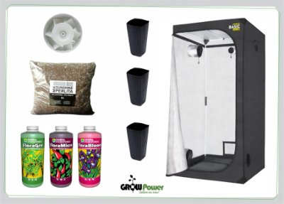 KIT EASY TO GROW 60X60x160 - Sem Luz