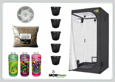 KIT EASY TO GROW 120x120x200 - Sem Luz