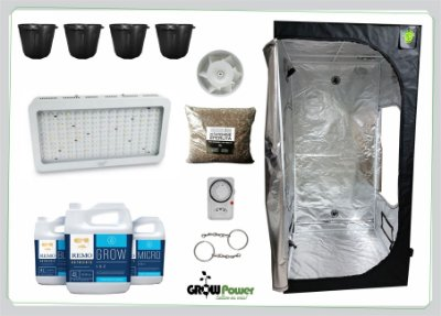 KIT LED EASY TO GROW 100x100x200 – 1500w Bivolt