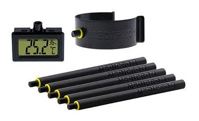 Medidor de Altura MEDIPRO com Termohigrômetro