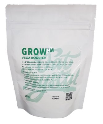Fertilizante Fat Crystal Grow 200g Vega Booster