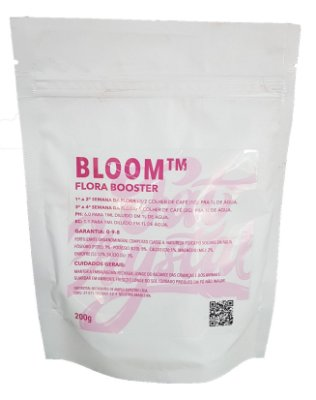 Fertilizante Fat Crystal Bloom 200g Flora Booster