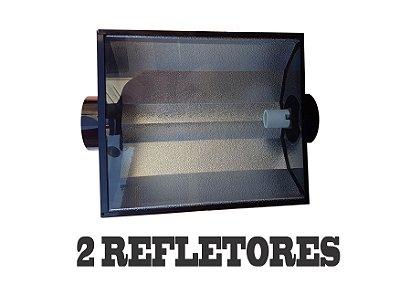 2 Refletores Dutados BIG HEAD 63x46cm - 150mm + FRETE GRÁTIS