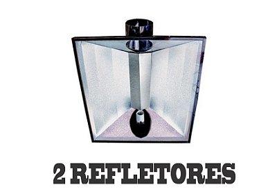 2 Refletores Dutados BIG FOOT 85x67cm - 150mm + FRETE GRÁTIS