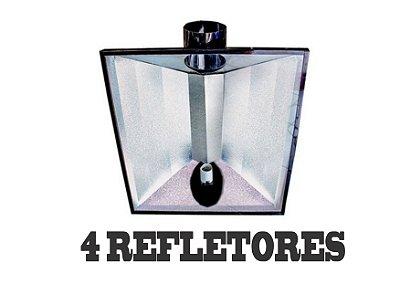 4 Refletores Dutados BIG FOOT 85x67cm - 150mm + FRETE GRÁTIS