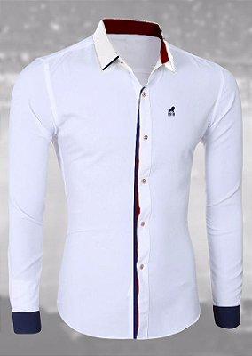 Camisa Social Branca - SÓCIO