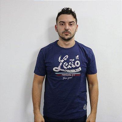 T-SHIRT FORÇA E GARRA - AZUL MARINHO
