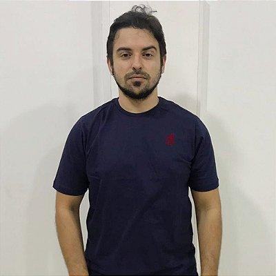T-SHIRT BÁSICA AZUL