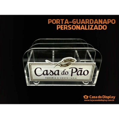 Porta Guardanapo Personalizado para bares e restaurantes