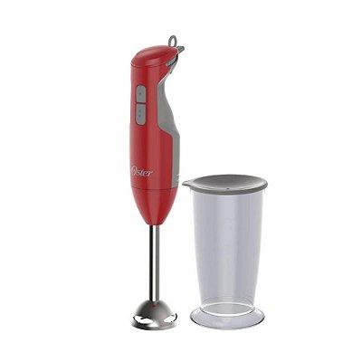 Mixer Versátil com Lâmina em Aço Inox 250W Vermelho Oster 220V