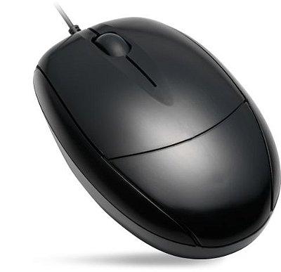 Mouse com Fio Ótico USB MO-K133 Preto Kmex