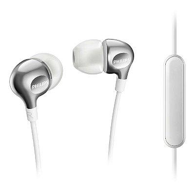 Fone de Ouvido Intra-Auricular SHE3705 Branco Philips