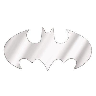 Espelho Decorativo DC Comics formato Logo Batman - 57 x 120 cm