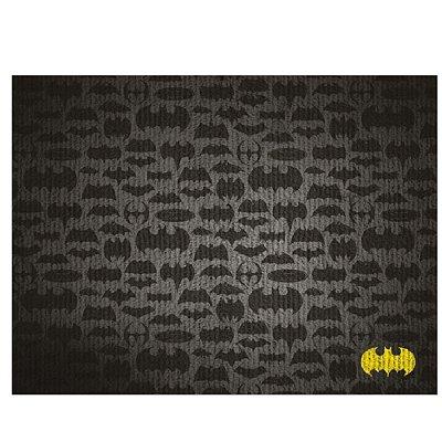 Tapete Decorativo de Algodão e Poliéster DC Comics Batman All Icons - 50 x 120 cm