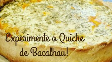 Banner Quiche Bacalhau