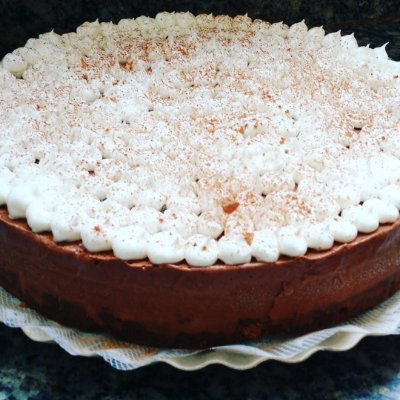Torta Brownie Musse de Chocolate