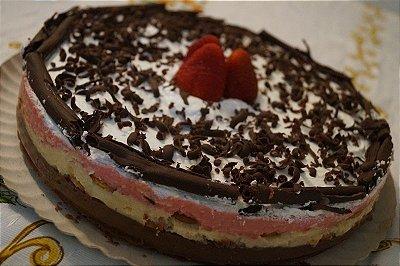 Torta As 3 Carolindas (Napolitana)