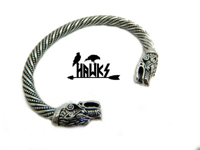 Bracelete Viking Arm Ring Fenrir Ragnarok