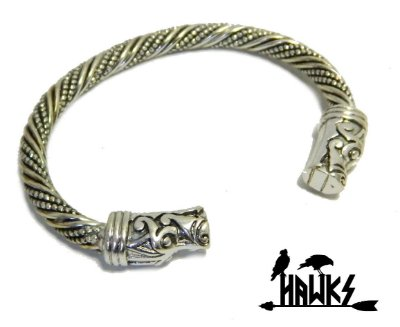 Bracelete Gotland Arm Ring Nidhogg