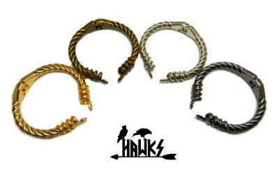 Bracelete Arm Ring Viking Cobra Jörmungandr