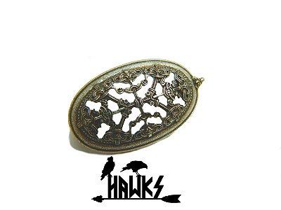 Broche Viking Tortoise Pequeno