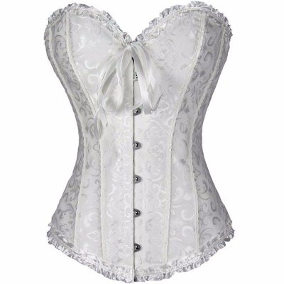 Corset Overbust Princess White