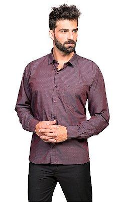 Camisa Manga Longa Tony Menswear Sr. Algodão com Bolso