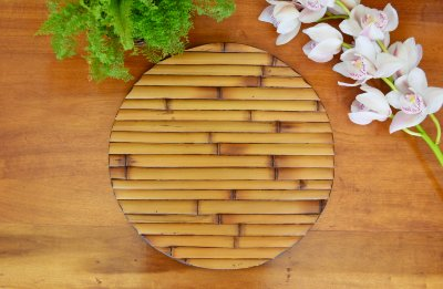 Sousplat Bambu